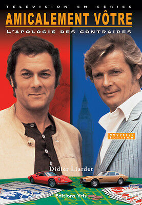 The Persuaders! French Book Roger Moore Tony Curtis Itc New Persuaders