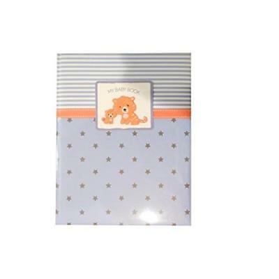 Boys Baby Memory Book Tiger Blue 5 Year Journal Keepsake New