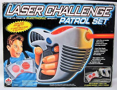 1996 LASER CHALLENGE Patrol SET by TOY MAX Cool Fun Vintage Toy! Tested Works!