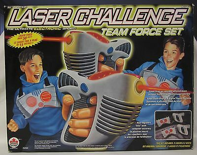 1996 LASER CHALLENGE TEAM FORCE Set  TOY MAX Cool Fun Vintage Toy Tested Works!