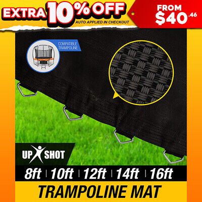 Up-Shot Replacement Trampoline Mat Round Spring 8ft 10ft 12ft 14ft 16ft Spare