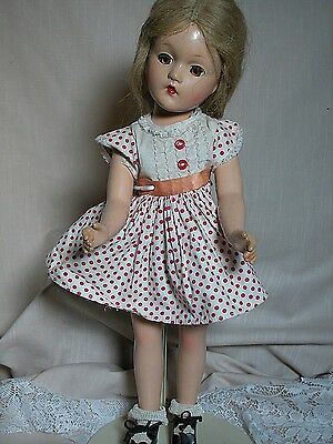 Madame Alexander Composition Doll Wendy Ann Face Early Alexander doll