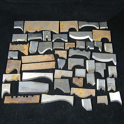 Lot of 50 Woodmaster Powermatic Grizzly Jet Planer Cutter Molder Molding Knives