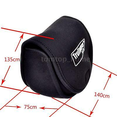 Trulinoya Fishing Reel Bag Protective Cover Spinning Reel Protective Case A B0Y4