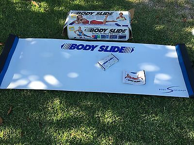 Cheryl Ladd Body Slide Aerobic Fitness Lateral Trainer Board By Body Solutions