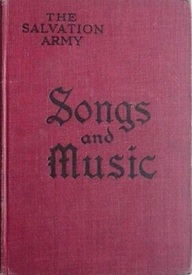 1922 Salvation Army Song Book