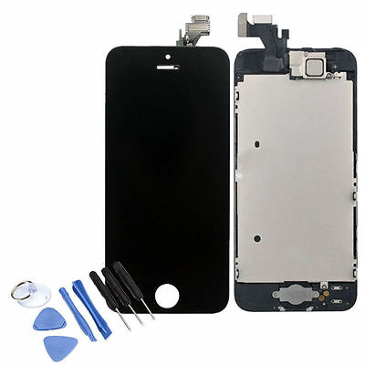 For iPhone 5 LCD Lens Screen Touch Full Assembly Display Replacement Digitizer