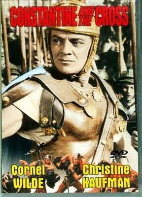 DVD Roman Emperor Constantine & The Cross Ancient Christianity Maxentius Milvian