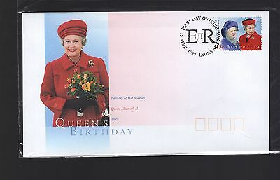 Australia 1999 QE11 Birthday FDC in unopened packaging see scans x2