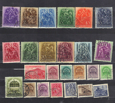Hungary - Lot Of Early Used Stamps (17HU)