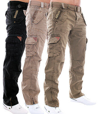 Geographical Norway Men's Trousers Leisure Trousers Cargo Trousers Army Pants