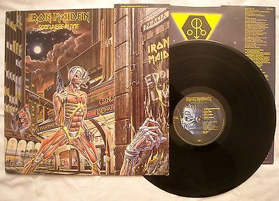 IRON MAIDEN - SOMEWHERE IN TIME - ANNO 1986 - Stampa UK