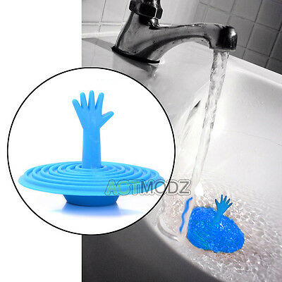 Silicone Drain Cover Kitchen Water Sink Drainer Strainer Disposal Stopper Plug