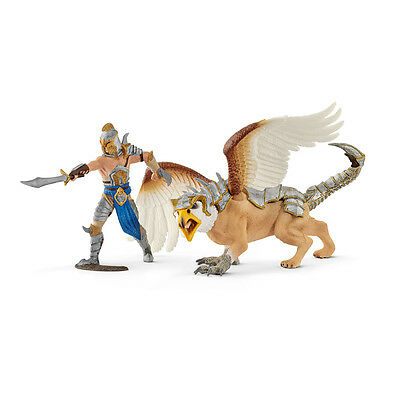Schleich 70129 Warrior With Griffin (Eldrador Warriors) Plastic Figure