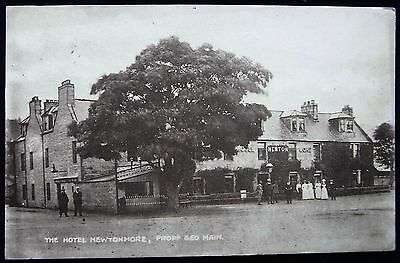 Old Postcard - The Hotel, Newtonmore, Perthshire, Scotland - 1913
