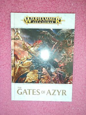 warhammer age of sigmar the gates of azyr hardcover book