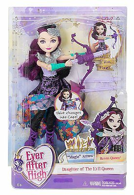 Ever After High Rabe-queen Magic Arrow Puppen