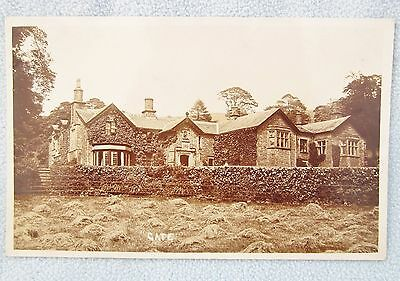 Real Photo Postcard GATE MANOR Dent Cumbria / Yorkshire Country House RP
