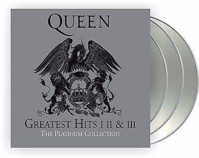 "Queen ""platinum collection"" 3CD Box Greatest Hits I, II, III NEU 2011 remastered"