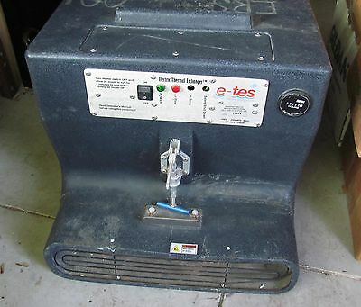 E-Tes NICE  Bridgepoint Systems E-Tes 120 V Low Electric Thermal Exchanger
