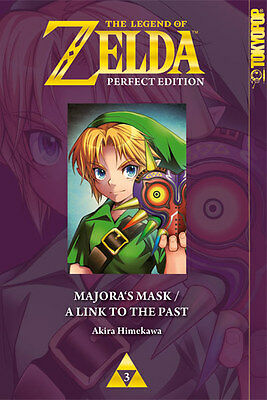The Legend of Zelda Perfect Edition 3 - Majoras Mask / A Link to the Past