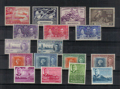 Mauritius George VI mint collection
