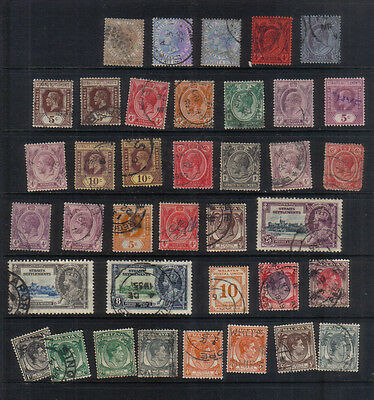 Straits Settlements Stockbook Clearout