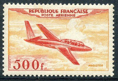 Stamp / Timbre France Neuf Poste Aerienne N° 32 ** Fouga Magister Cote 250 €