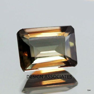 Andalusite 7x5 MM Emerald  Cut Outstanding Color ALL NATURAL AAA