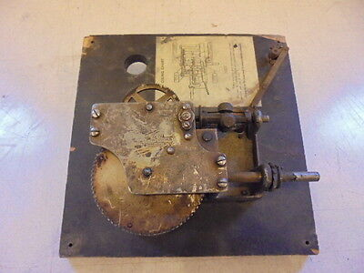 Aeolian No.7 Phonoraph Motor On Board Works Swiss Made As Is For Parts