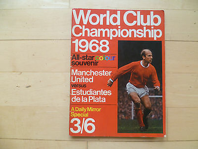 World Club Championship 1968 Daily Mirror Special Manchester Utd