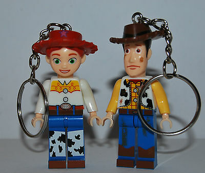 Jessie And Woody Key Chain -  Toy Story Keychain - Valentine's Day
