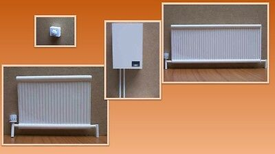 1:12 scale dolls house miniature central heating items 4 to choose from.