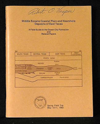 Oil East Texas Middle Eocene Coastal Plain And Nearshore Deposits 1980 Softcover