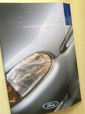 FORD ESCORT Mk.6   SALES BROCHURE  1998  EDITION 2   #ForEs01