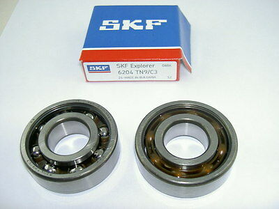 Roulement Skf 6204 C3 Tn9 Cage Competition - 20*47*14 Scoot Pgt Ludix - 3685