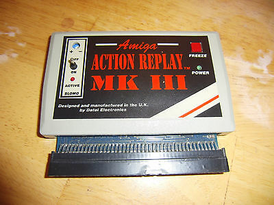 Action Replay MK III for the Amiga 500