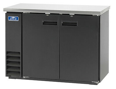"Arctic Air 48"" 2 Solid Door Back Bar Cooler - Abb48"