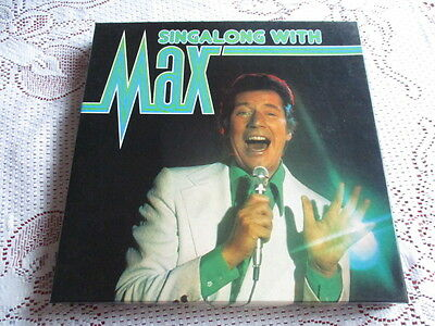 Singalong with Max Box set 6 Vinyl LP Collection  Max Bygraves