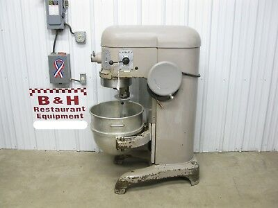 Hobart H 600 Heavy Duty Bakery Dough Mixer 60 Qt w/ Bowl Hook