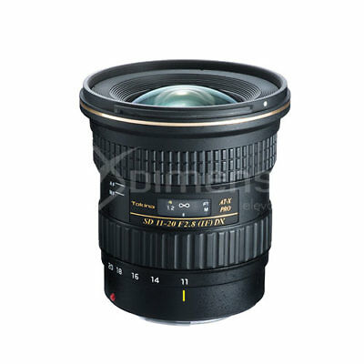 Tokina AT-X 11-20mm F/2.8 PRO DX Lens for Nikon F migliore