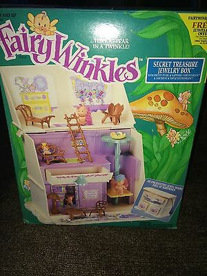 1993 Kenner ~ Fairywinkles dolls ~ Secret Treasure Jewelry Box ~ NIB