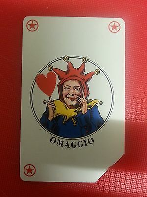 Year 2000: The Joker Playing Card. Collectable Used Italian Phone Card
