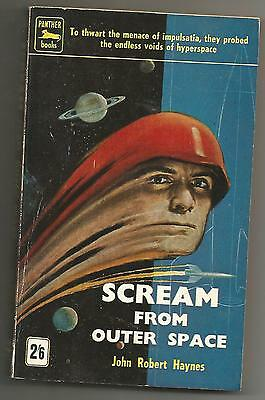SCREAM FROM OUTER SPACE - John Robert Haynes /  1958 CORGI Science Fiction