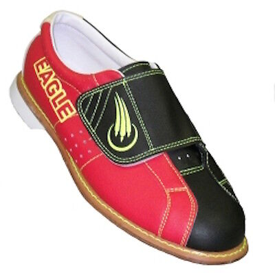 New Womens Eagle Black/Red RENTAL Bowling Shoes All Sizes