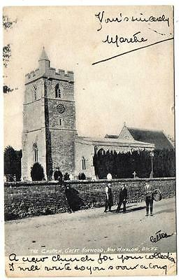 St James Church Great Horwood Near Winslow 1909
