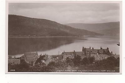 Loch,Linnhe From The Highland Hotel,Fort William RPPC (J.B.White)