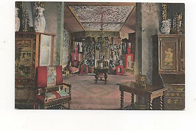 Victor Hugo's Residence Hauteville House,Guernsey, Red Drawing Room,PPC
