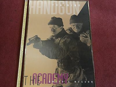 """Smith & Wesson Handgun Training """"The Academy"""" Poster"""