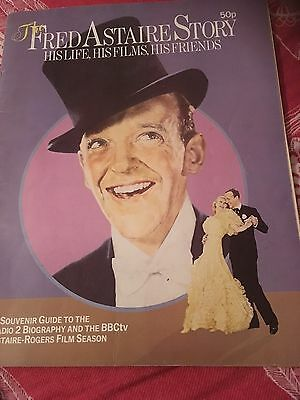 THE FRED ASTAIRE STORY BBC 1975 68pp SOUVENIR GUIDE & BIOG - ADELE GINGER ROGERS